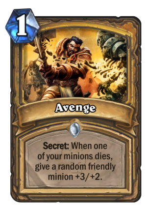 Avenge Card