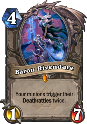 Baron Rivendare Card