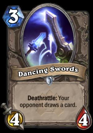 Dancing Swords Card