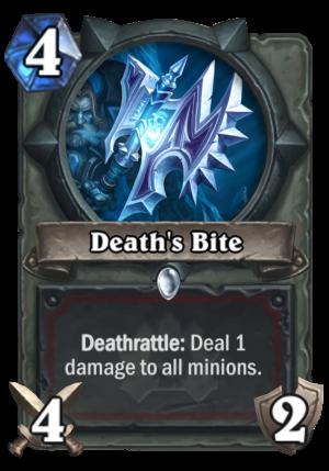 Death's Bite Card