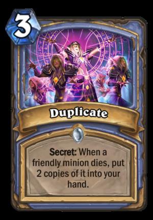 Duplicate Card