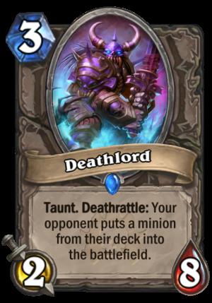 Deathlord Card
