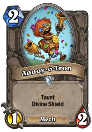 Annoy-o-Tron Card