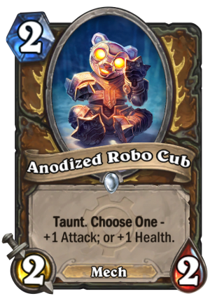 Anodized Robo Cub Card