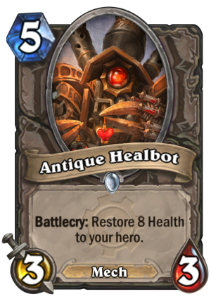 Antique Healbot Card