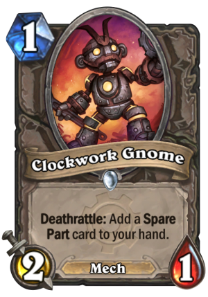 Clockwork Gnome Card