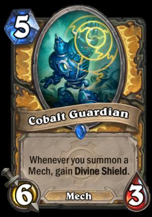 Cobalt Guardian Card