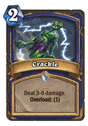 Crackle Card