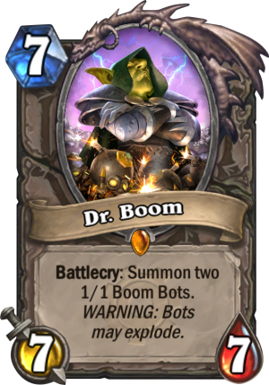 Dr. Boom Card