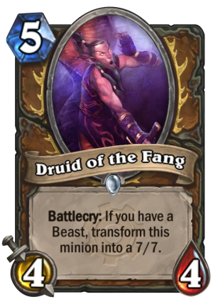 Druid of the Fang Card