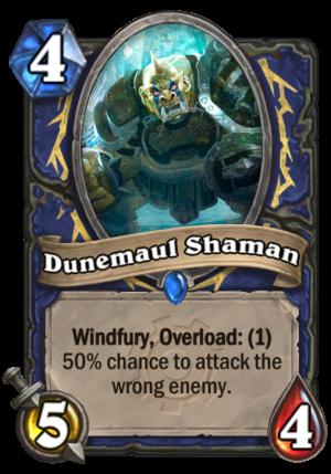 Dunemaul Shaman Card