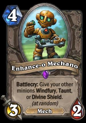 Enhance-o Mechano Card