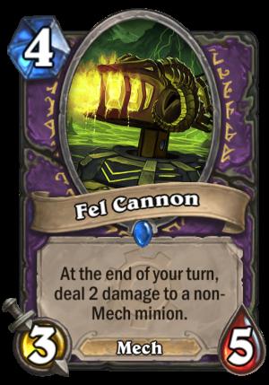 Fel Cannon Card