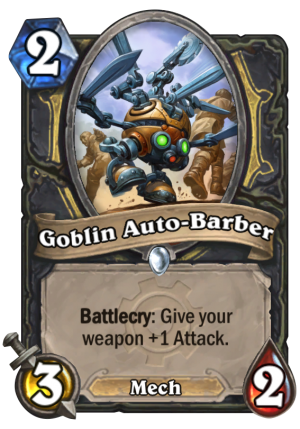 Goblin Auto-Barber Card