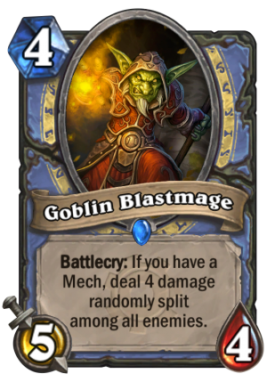 Goblin Blastmage Card
