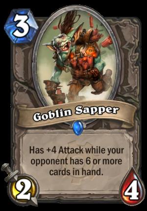Goblin Sapper Card