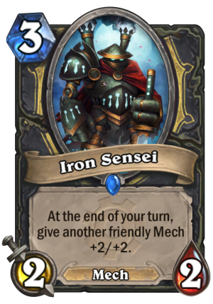 Iron Sensei Card