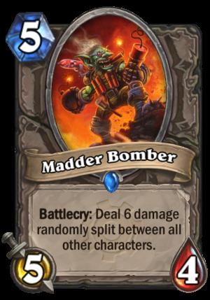 Madder Bomber Card