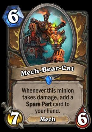 Mech-Bear-Cat Card