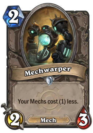 Mechwarper Card