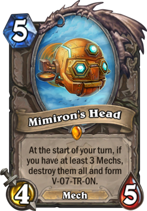 Mimiron's Head Card
