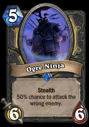Ogre Ninja Card