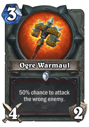 Ogre Warmaul Card