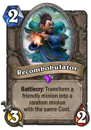 Recombobulator Card