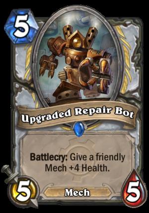 Upgraded Repair Bot Card