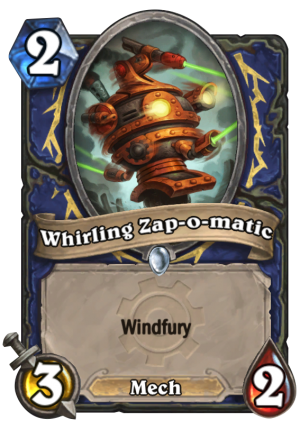 Whirling Zap-o-matic Card