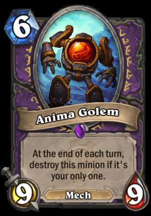 Anima Golem Card