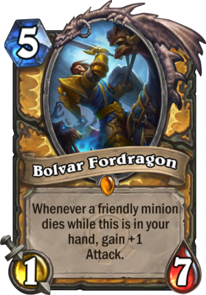 Bolvar Fordragon Card