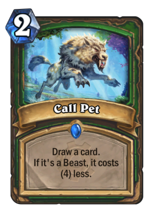 Call Pet Card