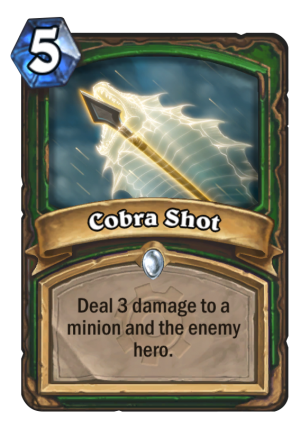 Cobra Shot Card