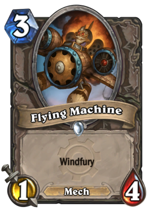 Flying Machine Card