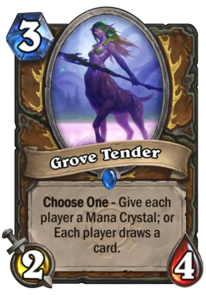 Grove Tender Card