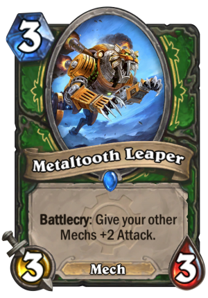 Metaltooth Leaper Card