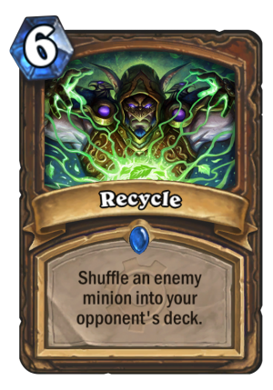 Recycle Card