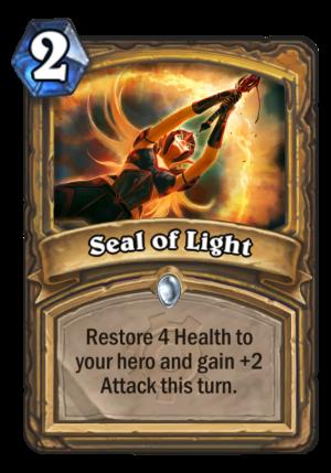 Seal of Light Card