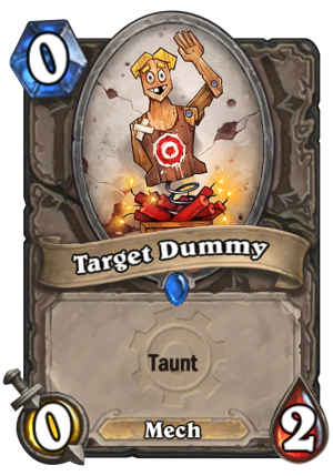 Target Dummy Card
