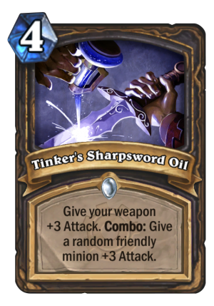 Tinker's Sharpsword Oil Card