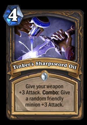 Tinker's Sharpsword Oil Card