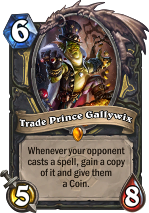Trade Prince Gallywix Card