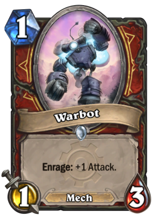 Warbot Card