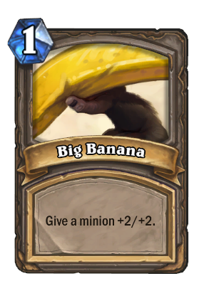 Big Banana Card