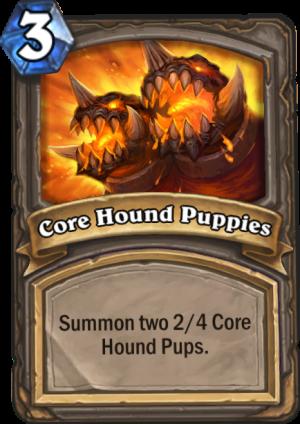 Core Hound Puppies Card