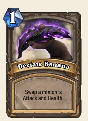 Deviate Banana Card
