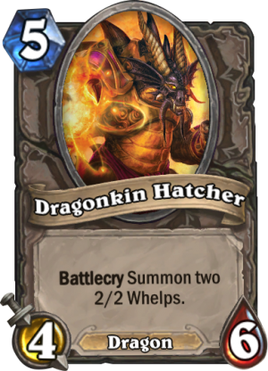 Dragonkin Hatcher Card