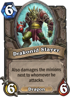Drakonid Slayer Card