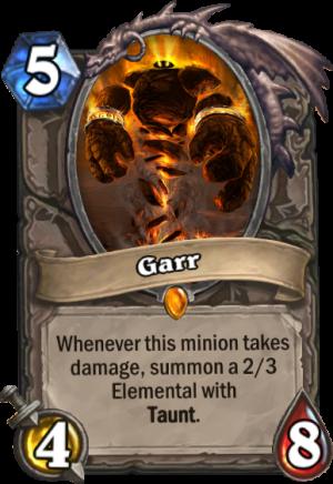 Garr Card